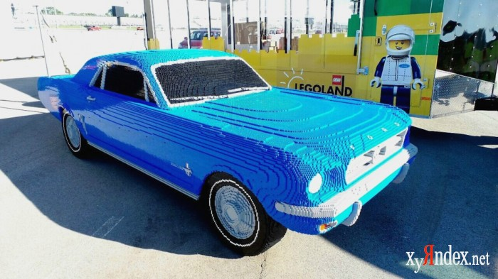 Ford Mustang из Lego (3 фото)
